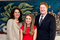 Ali V's Bat Mitzvah Temple Portrait Session ~ Washington Hebrew